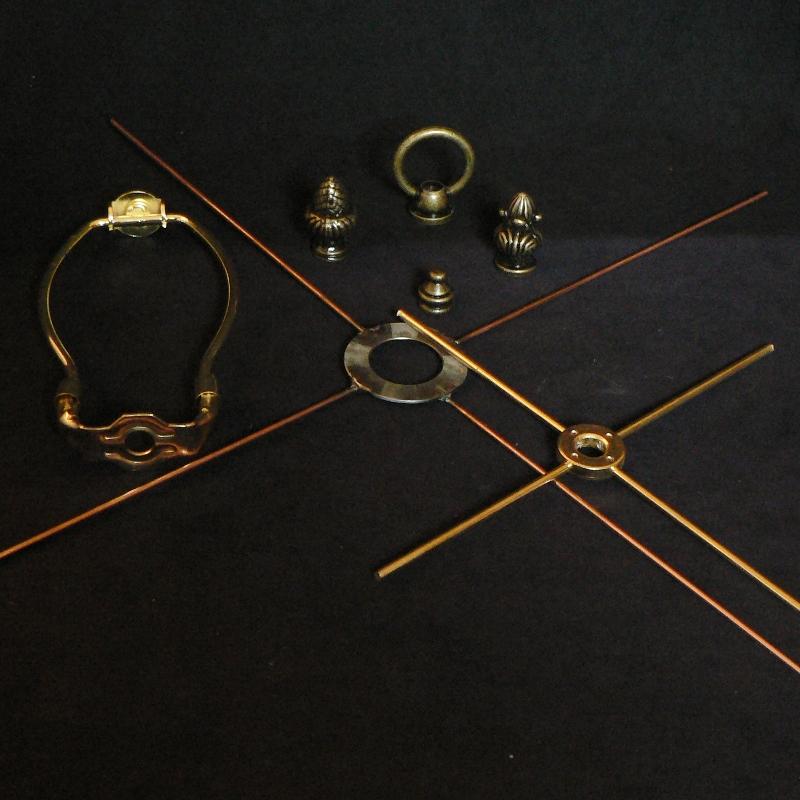 Harps, Finials & Spiders
