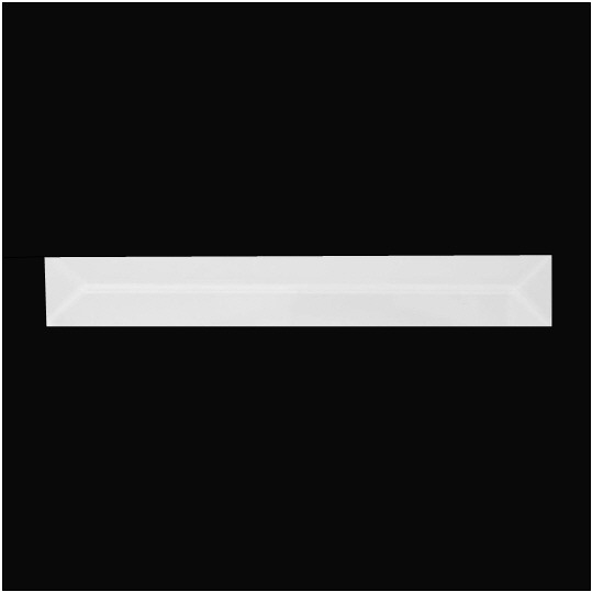1″ X 10″ (25mm X 254mm) Rectangular Bevel
