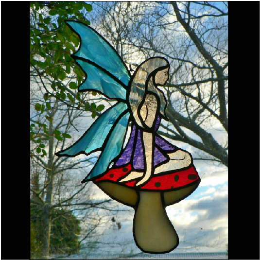 #112 Fairy On Toadstool