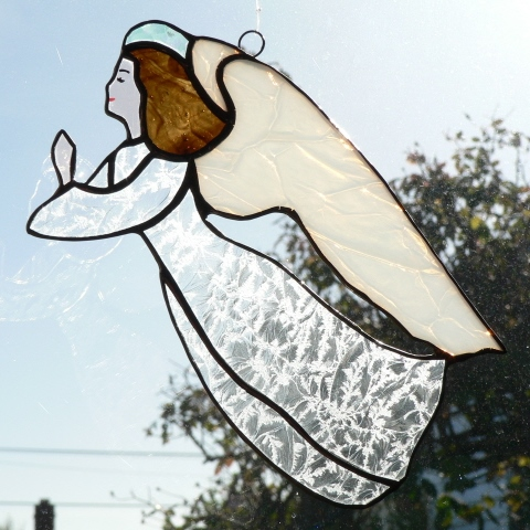 #115 Stained Glass Angel