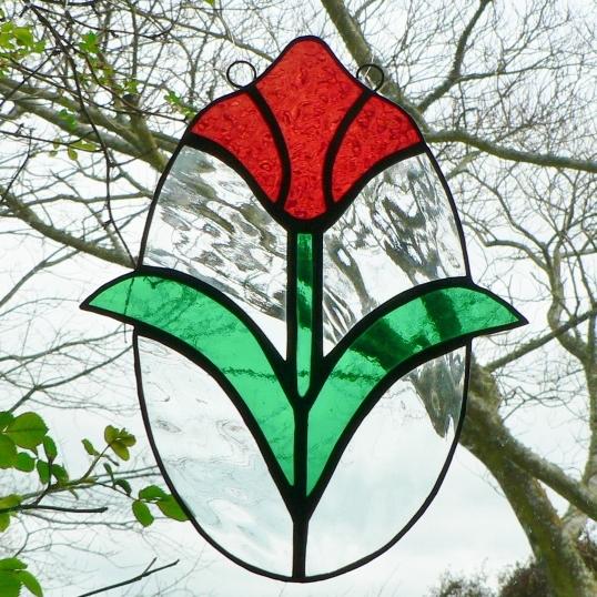 Victorian Tulip – Red