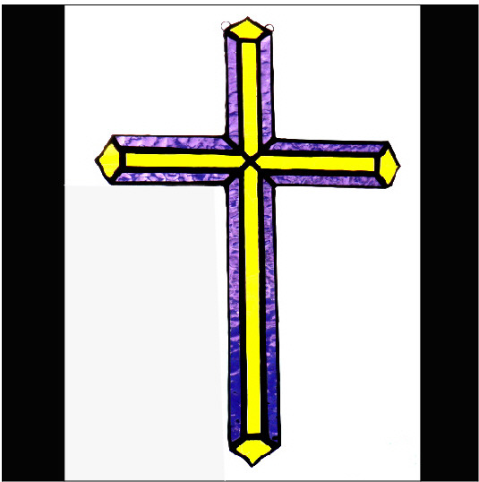 Cross – Yellow & Purple