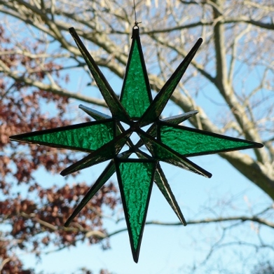 Star – Large 3D Green