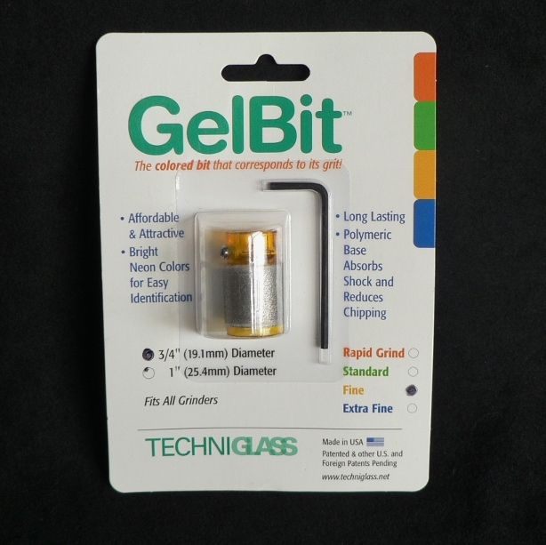 Fine Grit Yellow Gel Bit 19mm