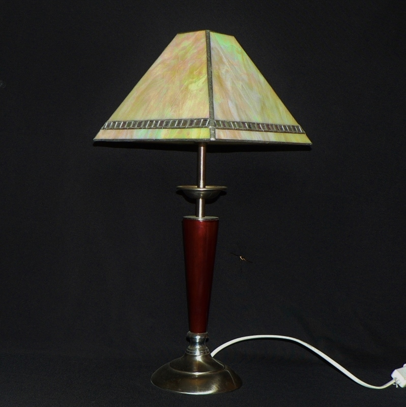 Iridized Simplicity Table Lamp
