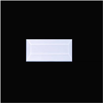 1 1/2″ X 2″ (38mm X 51mm) Rectangular Bevel