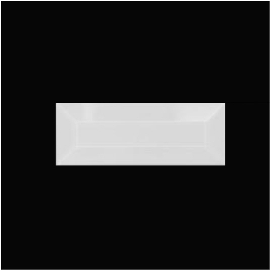 1 1/2″ X 4″ (38mm X 102mm) Rectangular Bevel
