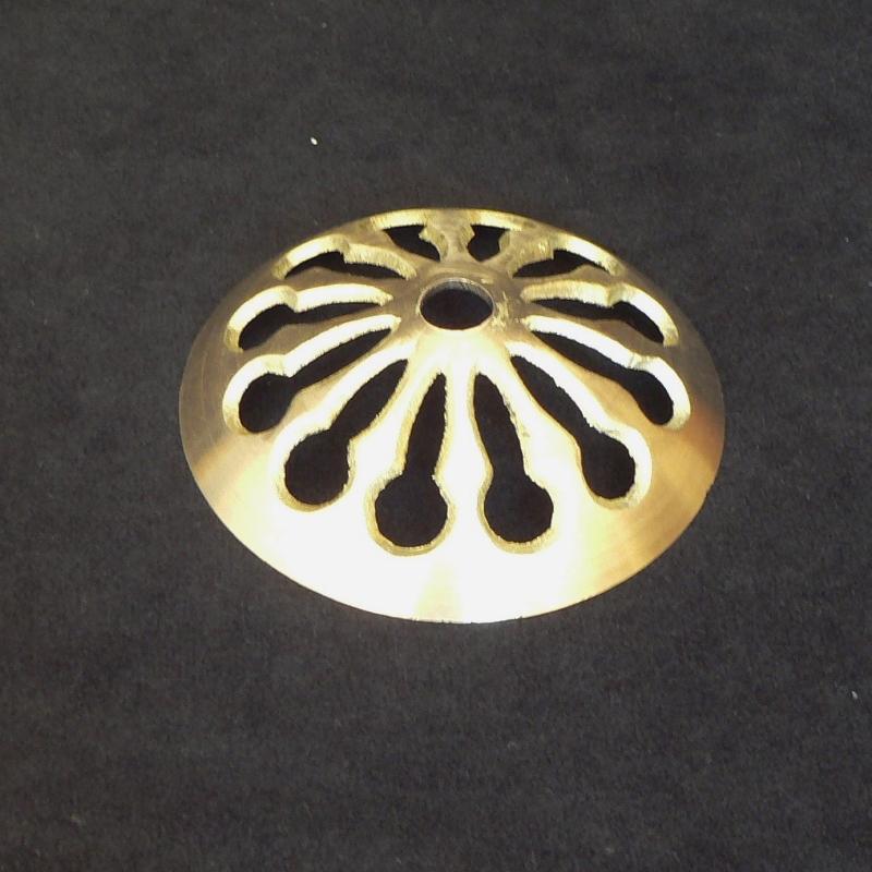 3 – 1/8″ Cast Brass Vented Vase Cap