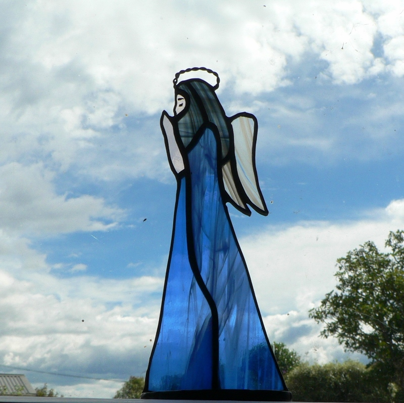 #108 Stained Glass Angel