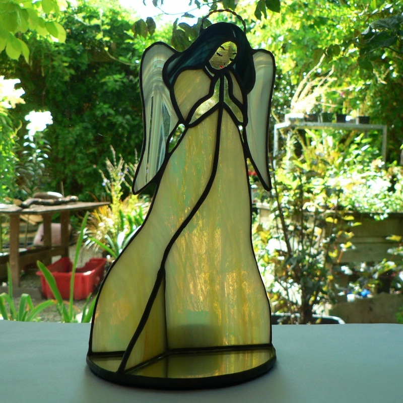 #109 Stained Glass Angel