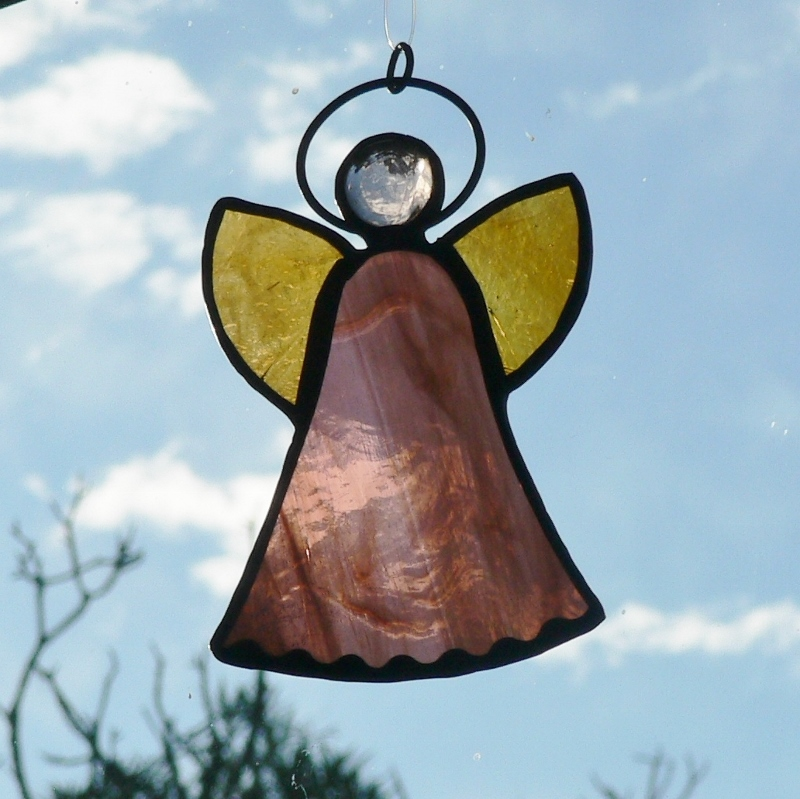 #139 Stained Glass Angel