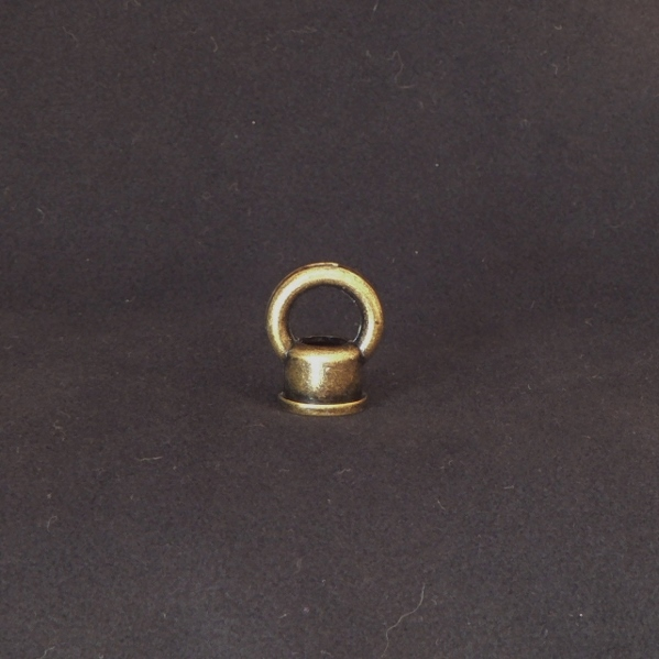 19mm Antique Brass Finish Hanging Loop