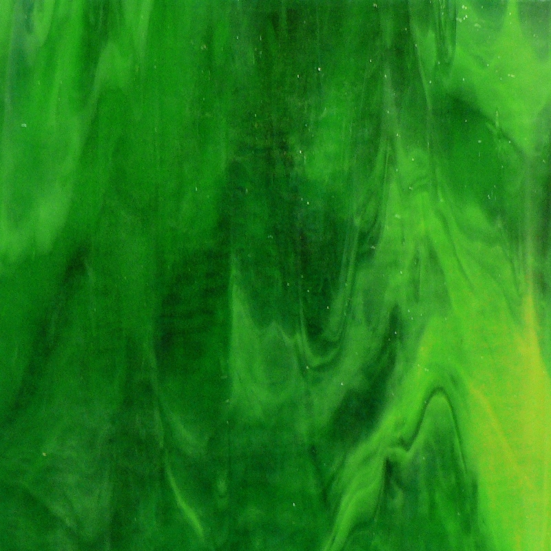KOK122G Lime Green Opalume / Green Granite