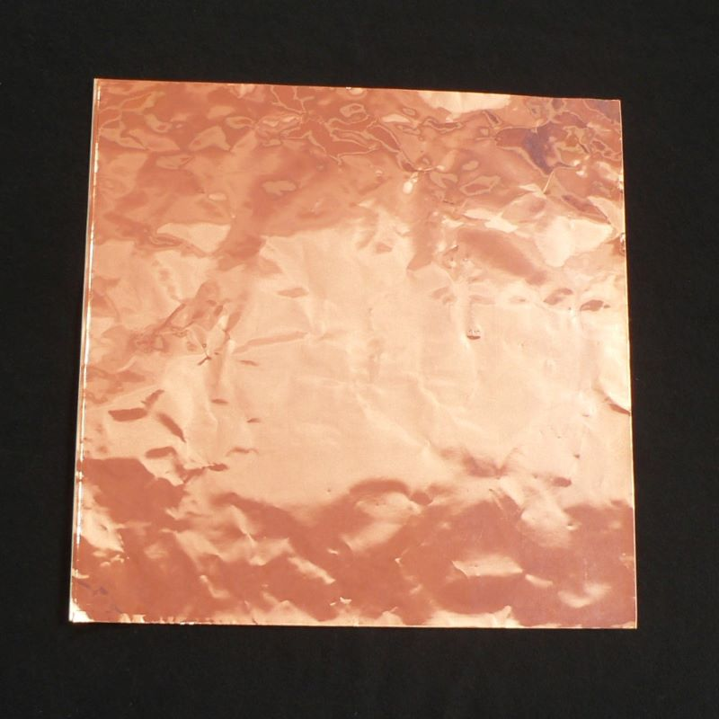 Edco Black Back Copper Foil Sheet