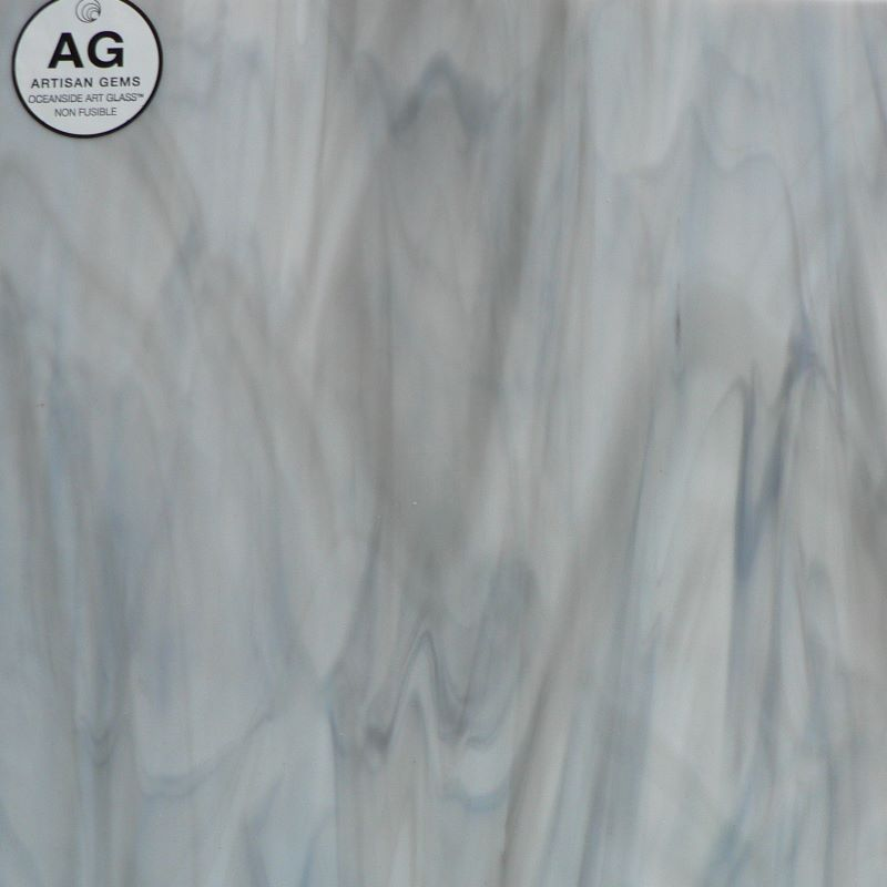 OGTAG3852 Light Grey / White Opal