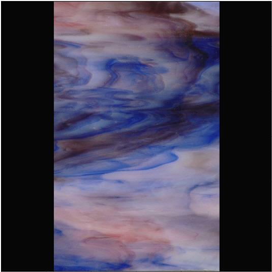 PUP238 Dark Purple / Dark Blue / Opal