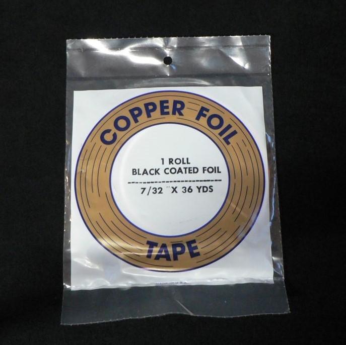 7/32″ (5.56mm) Black Back Copper Foil